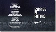 Nike, escribe el futuro
