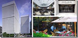 Colony Square, el Hotel y el centro comercial