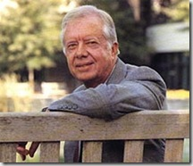 Jimmy Carter en persona