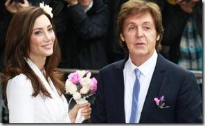 Nancy Shevell y Paul McCartney just married