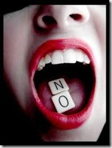 No digas nunca No