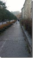 Resiljeva Cesta, castillo al fondo, Liubliana