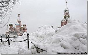 Moscú nevado