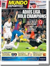 Mundo Deportivo, 22 abril 2012