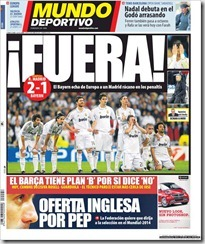 Mundo Deportivo, 26 abril 2012