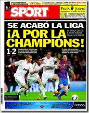 Sport, 22 abril 2012