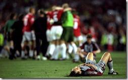 Man U vs Bayern 1999