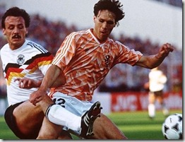 Alemania Holanda Van Basten