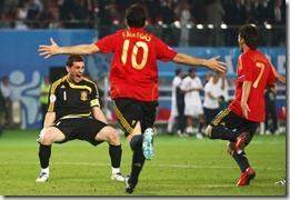 Casillas, Fábregas y Villa