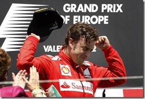 APTOPIX Spain F1 European GP Auto Racing