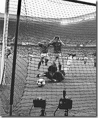 Gol de Francia final Euro 84, foto Apf
