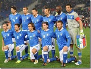 Selección de Italia, Euro 2012
