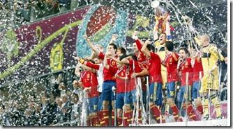 España campeona de Europa, foto ap
