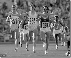 Sebastian Coe en los JJ OO de Moscú 1980, foto AP