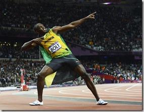 Usain Bolt, Efe