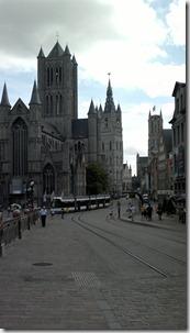 12. Gante, St Nicolás, Campanario y Catedral