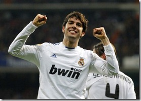 Kaká, activo del Real Madrid
