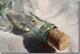Mensaje en una botella varada