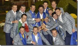 Ryder Cup, Europa, foto Efe