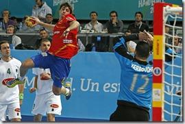 Aitor Ariño Bengoechea, selección española. Foto Juan Carlos Hidalgo, Efe