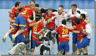 España Balonmano, foto Efe