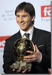 Messi Balón de Oro