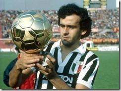 Michel Platini Balón de Oro