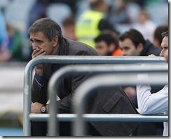 Paco Herrera, recién cesado en el Celta. LOF