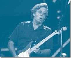 Eric Clapton, por un calcetín