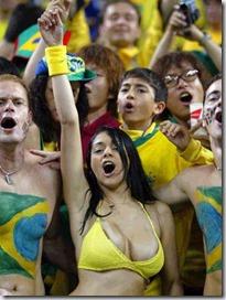 Torcida brasileña