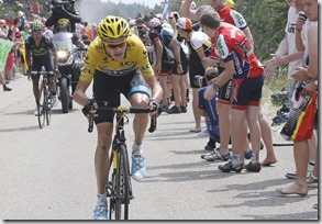 Chris Froome, foyo Guillaume Horcajuelo, Efe