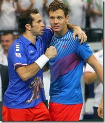 Stepanek y Berdich, foto Efe