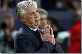 Carlo Ancelotti, foto Thibault Camus, AP