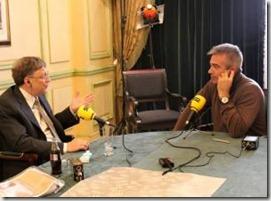 Carles Francino vs Bill Gates, Cadena SER