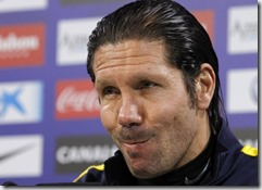 Cholo Simeone, foto Efe