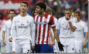 Diego Costa y Cristiano Ronaldo, foto Efe