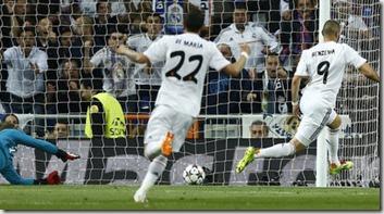 Real Madrid - Bayern Múnich, foto Andres Kudacki - AP