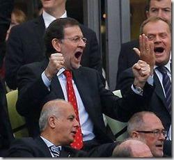Mariano Rajoy, políticos de Champions