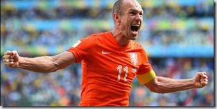 Arjen Robben, foto BR
