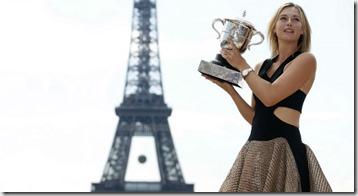María Sharapova, París