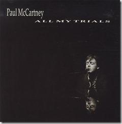 Paul McCartney All my trials, single
