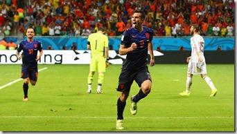 Van Persie, Sneijder, S Ramos, Casillas