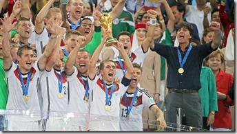 Alemania campeona del mundo