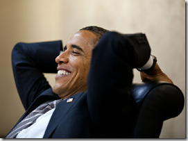 Obama satisfecho