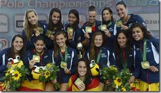 Selección femenina Waterpolo, foto AP