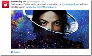 Twitter Michael Jackson