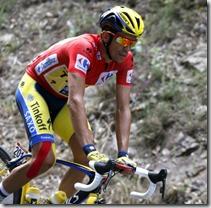 Alberto Contador, foto Efe