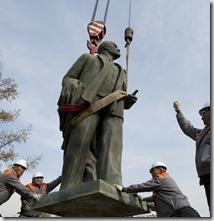 Estatua Lenin Ulan Bator, Getty Images