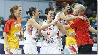 Selección femenina baloncesto, foto EFE Tolga Bozoglu