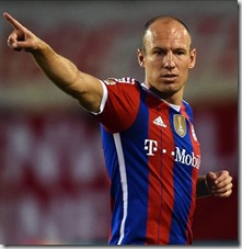 Arjen Robben Getty Images
